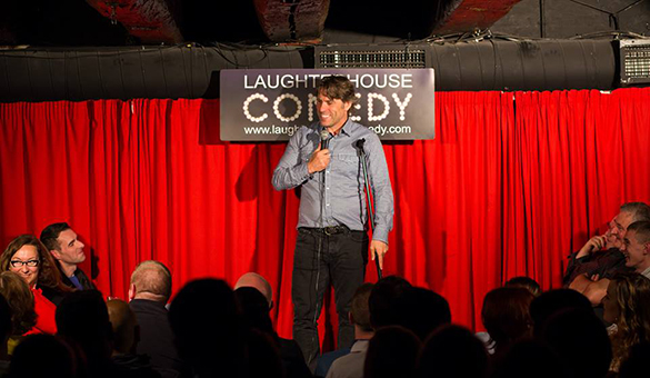 John Bishop at Laughterhouse