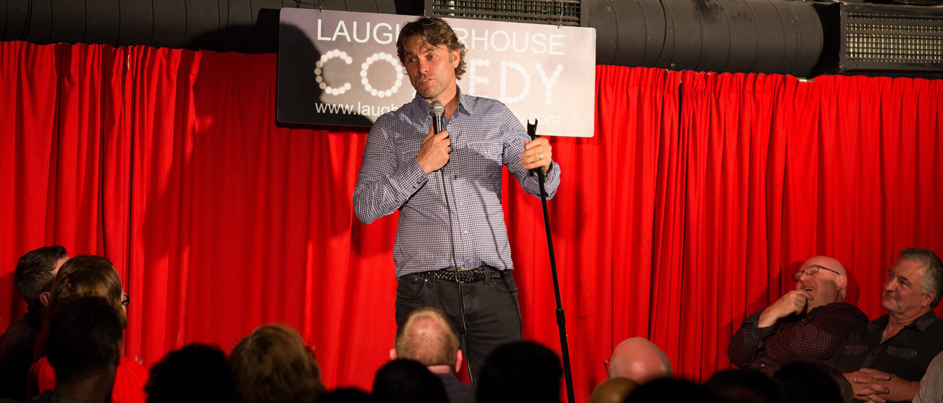 John Bishop At The Laughterhouse Comedy Club at The Slaughter House